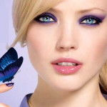Butterfly makeup by Bourjois