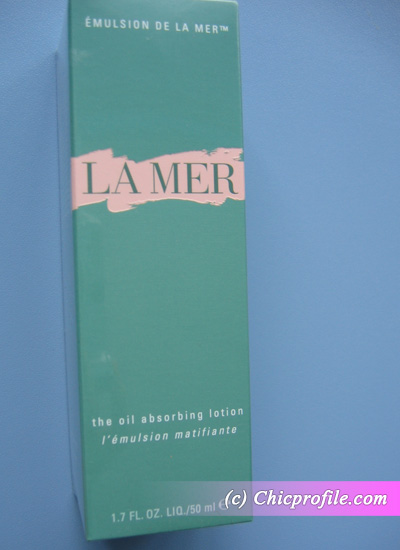 La-Mer-Oil-Absorbing-Lotion-box