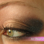 Brown and Shimmer Smokey Eye Makeup inspired by Illamasqua Android Pure Pigment