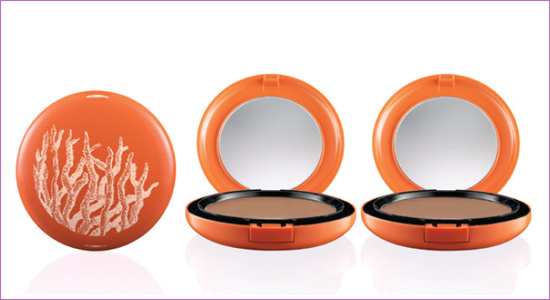 MAC To the Beach Bronzing Powder cap Update: MAC To The Beach  Summer 2010 Collection + Added Photos