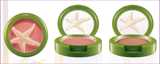 MAC To the Beach powder blush pot Update: MAC To The Beach Summer  2010 Collection + Added Photos
