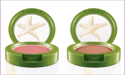 MAC To the Beach powder blush Update: MAC To The Beach Summer 2010  Collection + Added Photos