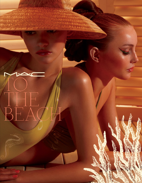 MAC To the beach summer 2010 collection promo 1 NEW: MAC To The Beach Summer 2010 Collection   New Information, Prices + Photos