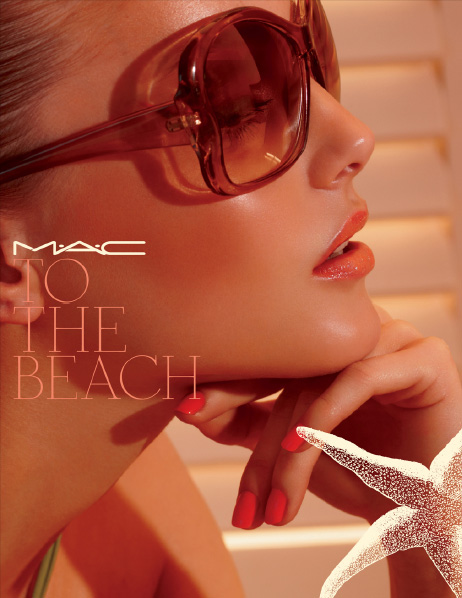 MAC To the beach summer 2010 collection promo NEW: MAC To The Beach Summer 2010 Collection   New Information, Prices + Photos