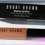 Bobbi Brown Shimmer Lip Gloss in Coral Sand – Review, Photos, Swatches, Lip Swatches