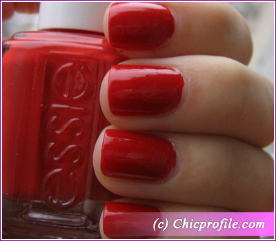 Red Nouveau 2 Coats Of Nail Polish