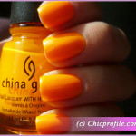 China Glaze Sun Worshiper nail polish from the Poolside Summer 2010 Collection – Review, Photos, Nail Swatches