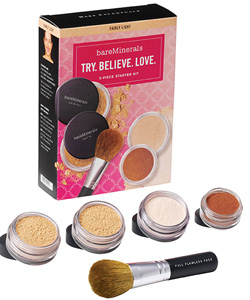 Bare Escentuals bareMinerals Try Me Kit Bare Escentuals Bare Minerals Makeup Kits for Summer 2010