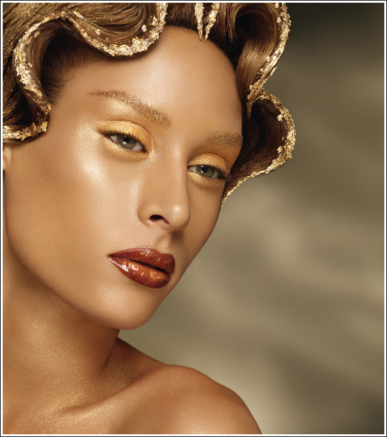 Thierry Mugler Gold Makeup Collection for Summer 2010 u2013 Beauty ...