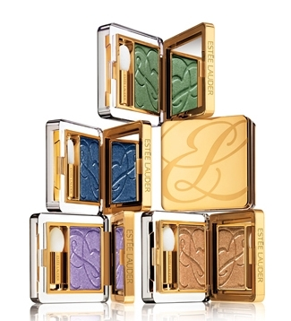 Estee Lauder 2010 fall Pure Color eyeshadow Estee Lauder & Tom Pecheux Blue Dahlia and Surreal Violet Makeup Collections for Summer Fall 2010