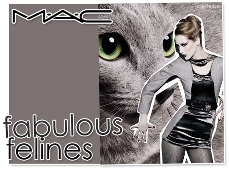MAC Fabulous Felines 2010 fall makeup collection MAC Fabulous Felines Makeup Collection for Fall 2010 + Promo Pictures