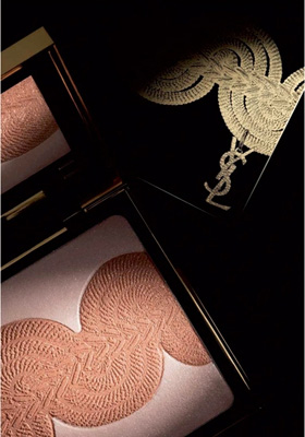 YSL Rock Baroque fall 2010 blush face Yves Saint Laurent Rock and Baroque Collection for Fall 2010 + New Photos