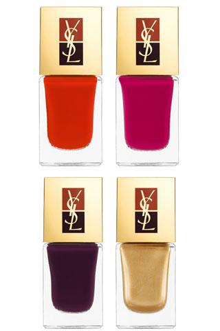 YSL Rock Baroque fall 2010 nail polish duo Yves Saint Laurent Rock  and Baroque Collection for Fall 2010