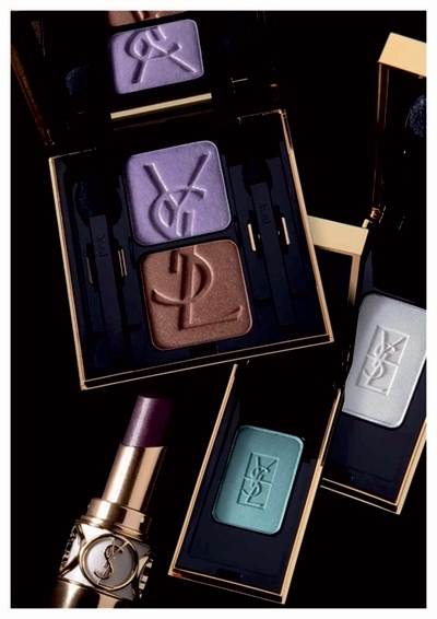 YSL Rock Baroque fall 2010 ombre duo chromatic harmony Yves Saint Laurent Rock and Baroque Collection for Fall 2010 + New Photos