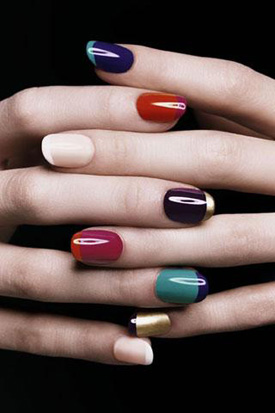 YSL fall 2010 nail trends YSL Rock and Baroque Nail Polish creates  new trends for Fall 2010