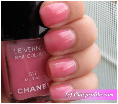 Wearing Chanel Mistral 517 With A Top Coat