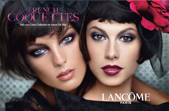 Lancome fall 2010 French Coquettes makeup collection Lancome French Coquettes Makeup Collection for Fall 2010   New Information + Photos