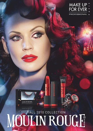 Make Up For Ever fall 2010 Moulin Rouge makeup collection Make Up For Ever Moulin Rouge Collection for Fall 2010