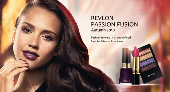 Passion Fusion, The Revlon Makeup Collection for Fall 2010