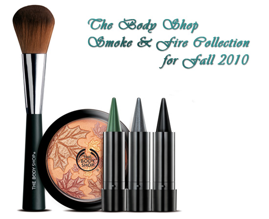 Осенняя коллекция The Body Shop Smoke & Fire Collection for Fall 2010 фото 1
