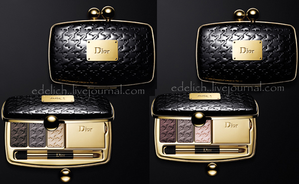 dior minaudiere grey golds обзор