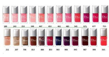 Dior Vernis Fall 2010 Collection forecasting