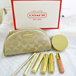 Estee Lauder Holiday 2010 Makeup Gift Set with Golden Silk Coach