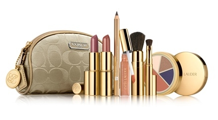 Estee Lauder Holiday 2010 makeup gift set 1 Estee Lauder Holiday 2010 Makeup Gift Sets