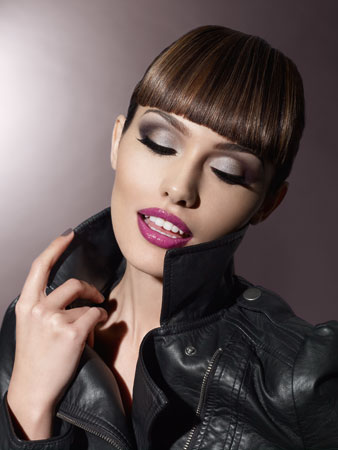 smokey eyes close up. Look 1: Smokey eyes amp; nude