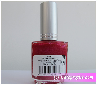 bright nail polish colors. Raspberry Fizz nail polish