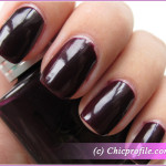 Kinetics Blackout Nail Polish from Backstage 2010 FW Collection – Review, Photos, Nail Swatches