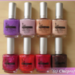 Kinetics Summer Kiss Nail Polish Collection for Summer 2010 – Review Round-Up