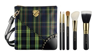 MAC A Tartan Tale holiday 2010 Brush Set Limited Edition MAC A Tartan Tale Makeup Collection for Holiday 2010   Preliminary Information + Photos