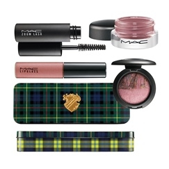 MAC A Tartan Tale holiday 2010 soft ore set MAC A Tartan Tale Makeup Collection for Holiday 2010   Preliminary Information + Photos