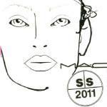 MAC Spring – Summer 2011 Makeup by Diane Kendal @Alexander Wang NY Fashion Week