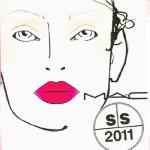 MAC Spring – Summer 2011 Makeup by James Kaliardos @Diane Von Furstenberg NY Fashion Week
