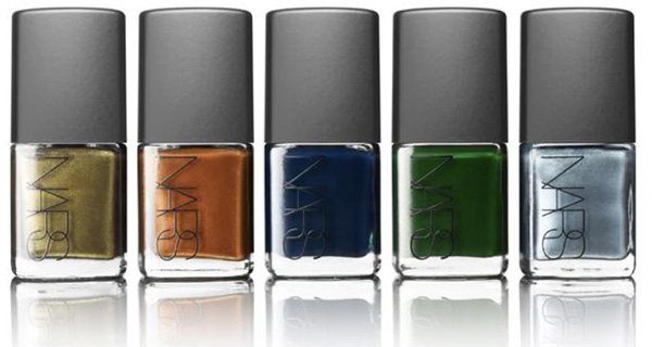 NARS Vintage nail polish collection 2010 fall winter NARS Vintage Nail Polish Collection for Fall Winter 2010 Limited Edition