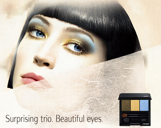 Shiseido Fall 2010 makeup collection promo Shiseido Makeup Collection for Fall 2010 New Photos + Information