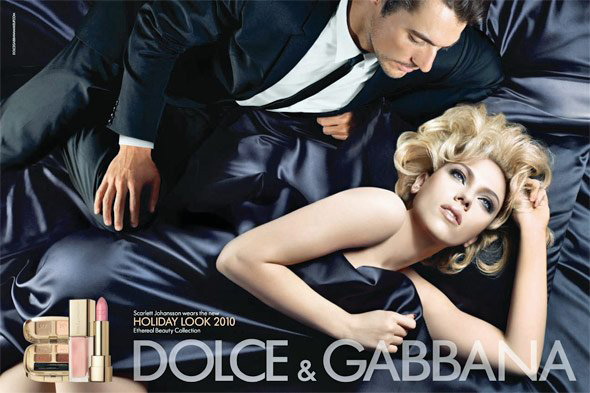 Dolce Gabbana Holiday 2010 Ethereal Beauty Collection Scarlett Johansson ad Dolce & Gabbana Ethereal Beauty Makeup Collection for Holiday 2010   Information, Photos, Prices