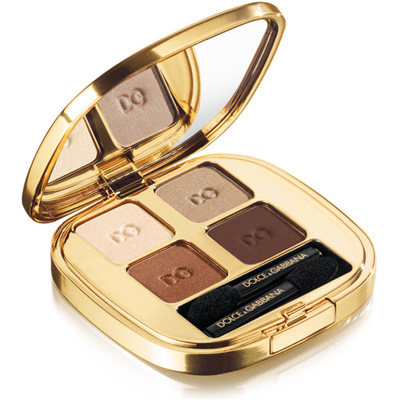 Dolce Gabbana Holiday 2010 Ethereal Beauty eyeshadow quad Dolce & Gabbana Ethereal Beauty Makeup Collection for Holiday 2010   Information, Photos, Prices