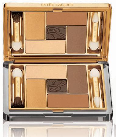 Estee Lauder Holiday 2010 Pure Color Five EyeShadow Palette Extravagant Gold Estee Lauder Pure Color Extravagant Collection for Holiday 2010   Limited Edition