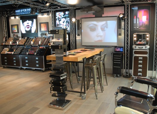 Make Up For Ever Store-in-Store Concept at Sephora Locations ...