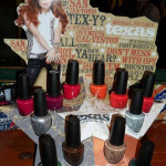 OPI Texas Collection for Spring – Summer 2011 + Promo Swatches