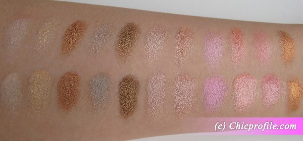 Coastal Scents 88 Metal Mania Palette swatches 22 Coastal Scents 88 Metal Mania Palette   Review, Photos, Swatches