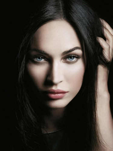 Giorgio Armani Megan Fox holiday 2010 Eyes to Kill collection promo Giorgio Armani & Megan Fox Eyes to Kill Collection for Holiday 2010