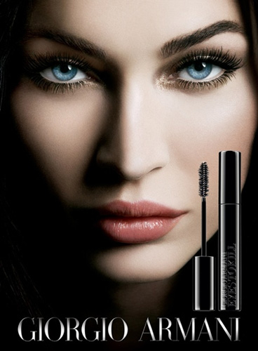 Giorgio Armani Megan Fox holiday 2010 Eyes to Kill collection Giorgio Armani & Megan Fox Eyes to Kill Collection for Holiday 2010