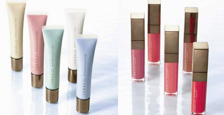 Kanebo Lunasol Spring 2011 lip products Lunasol Ocean Makeup Collection for Spring 2011 Sneak Peek