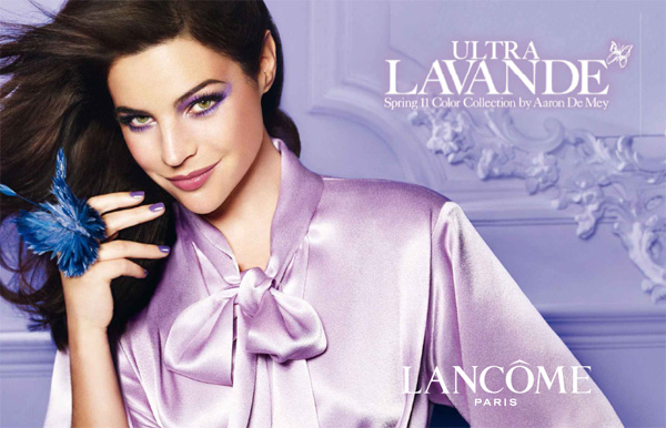 Lancome spring 2011 Ultra Lavande Collection Aaron de Mey promo Lancome Ultra Lavande Collection for Spring 2011 by Aaron de Mey