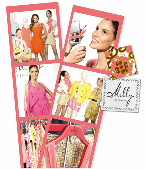 Milly Clinique spring 2011 Pretty in Prints Collection Milly for Clinique Pretty in Prints Collection for Spring 2011 Official Information, Photos, Prices