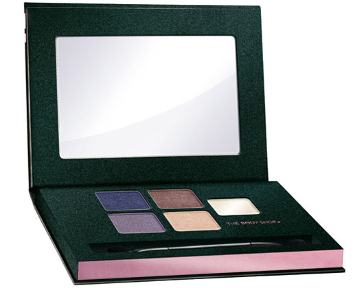 The Body Shop winter 2010 Twilight eyeshadow palette The Body Shop Makeup Collection for Winter 2010